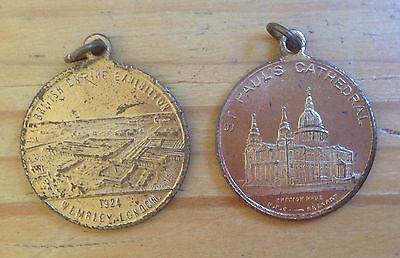 Medallions, British Empire Exhibition, St Paul's Cathedral, 1924