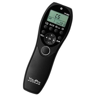 YouPro YP-880 wired Timer Remote Control Canon TC-80N3 6D,7D,5D,50D,40D,30D,D60
