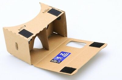 DIY 3D Google Cardboard VR Glasses - Mobile Phone Virtual Reality 3D Glasses, NF