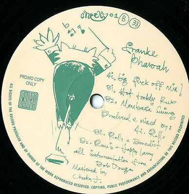 Franke Pharoah - Understand This Groove 12 Inch Vinyl 1992 House Cheeky Records