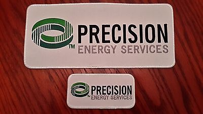 Oilfield Embroidered Patch - 2 Precision Energy Services, Inc. Patches!