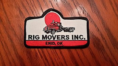 Oilfield Embroidered Patches - Rig Movers Inc. Patch!