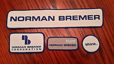 Oilfield Embroidered Patch - 4 Norman Bremer Patches!
