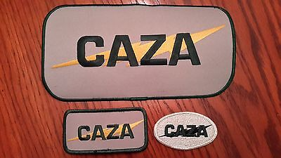 Oilfield Embroidered Patch - 3 Caza Oil & Gas - Old Logo!