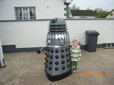 Build your own full size Dalek. Doctor Who. Dalek plans.