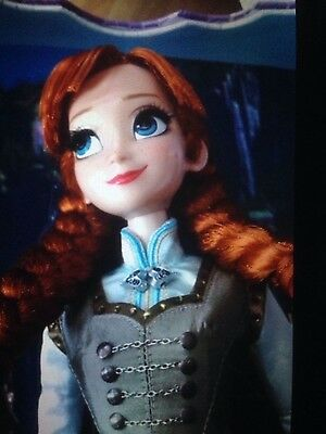 Disney Store Frozen Anna  17¨ Edition Limited  New