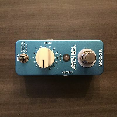 Mooer Pitch Box Pitch Shifter Electric Guitar Effects Pedal