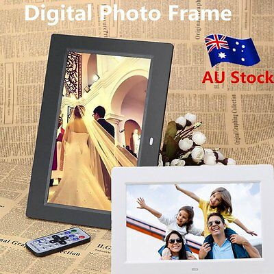 10.1 inch HD LCD Digital Photo Frame Alarm Video Player Remote U3