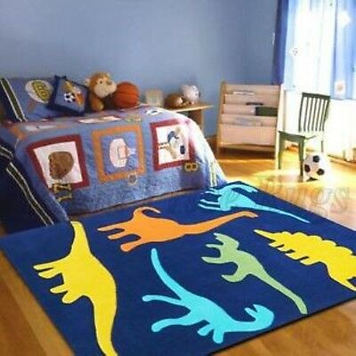 PLANES 142 KIDS RUG Thick Dinosaurs Floor Mat Playmat Baby FREE DELIVERY*