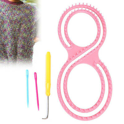 Strickrahmen Set Strickring Knitting Loom Stricke Strickhilfe Haken Strickliesel
