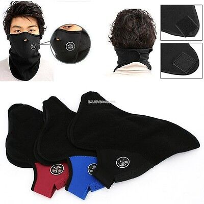 Warm Motorcycle Bicycle Unisex Windproof Neck Face Mask Neoprene Sport Ski NEW