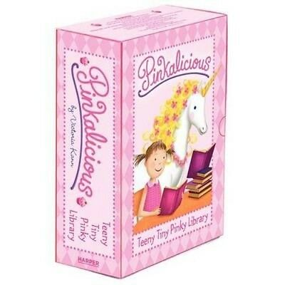 Pinkalicious: Teeny Tiny Pinky Library by Victoria Kann Boxed Set Book (English)