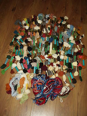 Huge Amount Tapestry Wool 150+ Many New.