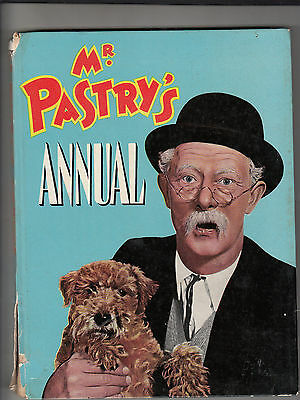 MR PASTRY'S ANNUAL 1960s UK Morrison and Gibb  93 Pages HARDCOVER