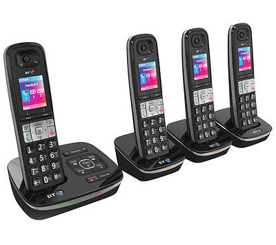 BT 8500 Quad - Advanced Call Blocker - Digital Cordless with Answer Machine