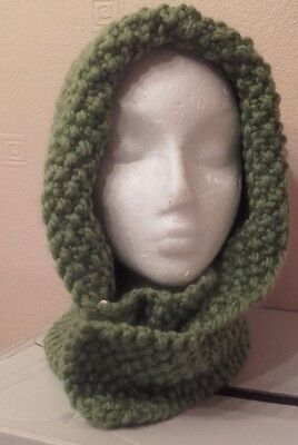 New Hand Knitted Over Riding Hat  Dog Walking Woolen Winter Warm Hood