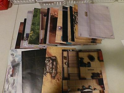 Star Wars miniatures 5 different maps, free shipping