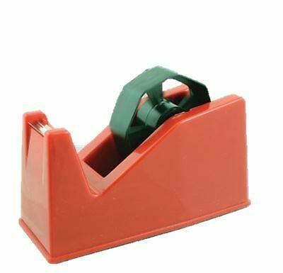 Jumbo Large Desk Tape Dispenser Assorted Colour Heavy Duty Desktop Sticky Holder