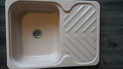 caravan camper motorhome boat conversion sink with drainer