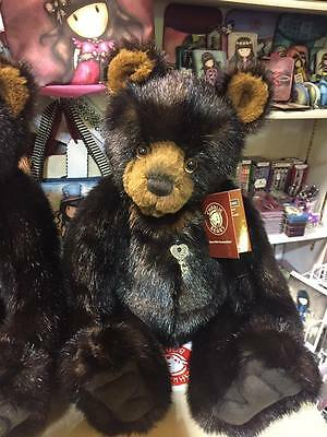 Charlie Bears FRANK - Brand New 2016 COLLECTION BNWT