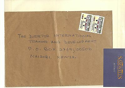 MS3611 2002 UGANDA Women Congress Inflation Stamps on Cover