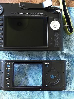 Leica 'm'  Lcd Viewing Screen For Monochrome. M8. M9 New