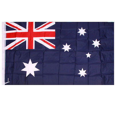 Wave 94x152cm Super-Poly Indoor/Outdoor Australian FLAG Country Banner