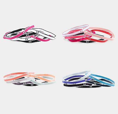 *New for 2017* Under Armour Women's UA Mini Headbands - 6 Pack - 1286016