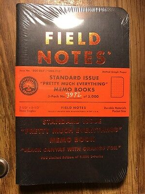 EEEK Field Notes Pretty Much Everything Standard Issue Memo Books