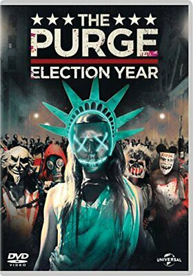 The Purge: Election Year (DVD + Digital Download) - DVD  EQVG The Cheap Fast