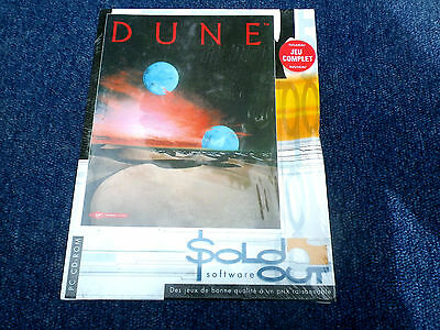 DUNE Jeu PC NEUF sous Blister. Vintage Collector