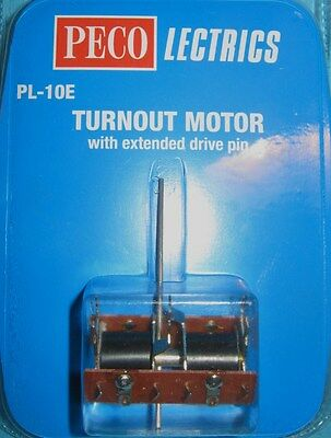 Peco Turnout Motor With Extended Drive Pin PL-10E New
