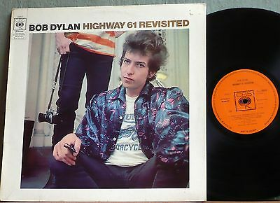 BOB DYLAN  Highway 61 Revisited 1965 LP. late 1960's Stereo pressing.
