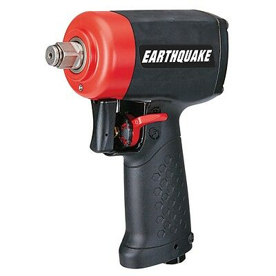 Super Compact! Ultra-Light Weight & Quiet 1/2 in. Stubby Air Impact Wrench