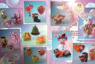 VINTAGE Darice Crystal Reflections Shape Ornament CRAFT BOOK with 23 Projects!