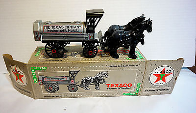 Texaco Collectors Series bank #8 (Horse and Tanker) Limited Edition