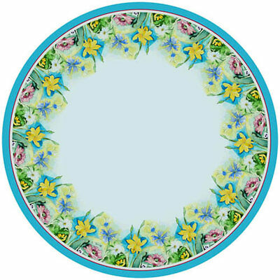Betsy Drake Interiors Florals Round Tablecloth