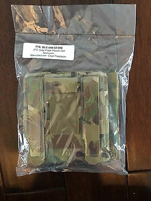 New Crye Precision JPC Side Plate Pouch Set 6x6  Multicam