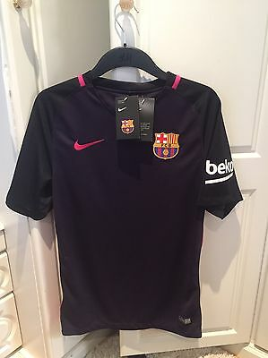 New Barcelona 2016 2017 Away Shirt Size Small
