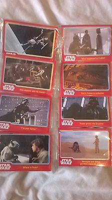 STAR WARS  - 40 x Topps Journey To The Force Awakens Trading Cards- STILL SEALED
