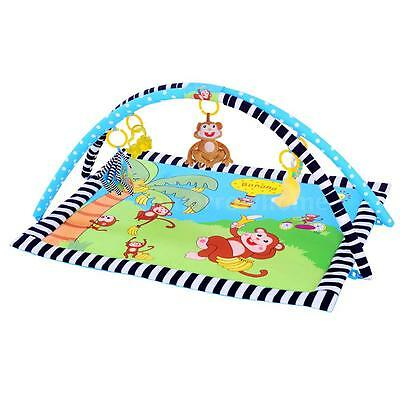 Ametoys Baby Playing Mat Padded Cushion Carpet Washable Blanket 90 * 66 CM E0D4