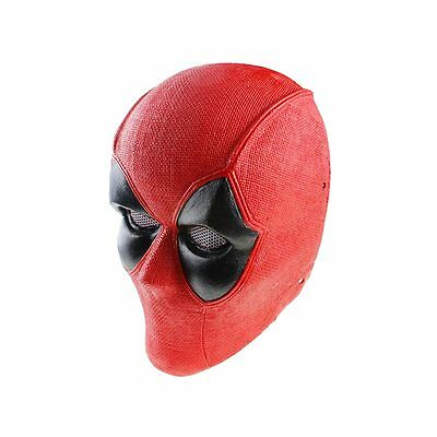 Red Fabric Plastic Wire Mesh Paintball Airsoft Full Face Protection Skull Mask