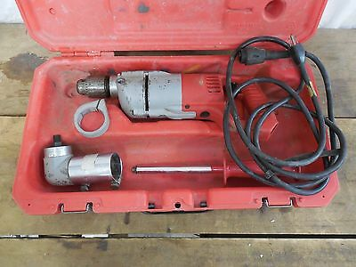 """Milwaukee 1107-1 1/2""""  Corded Electric Heavy Duty Right Angle Drill"""