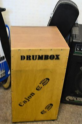 cajon with snare wire in built