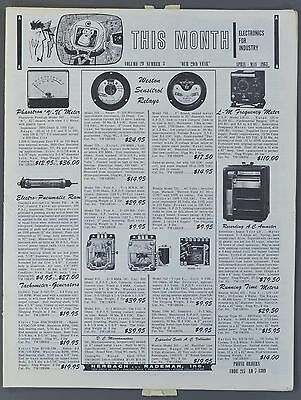 1963 HERBACH AND RADEMAN Electronics for Industry Catalog