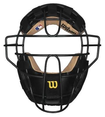 Wilson New View Steel Baseball/Softball Umpire Mask, WTA3077BLST