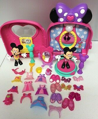 Disney Minnie Mouse Bow-Tique Snap N Style Dolls & Clothes & Accessories