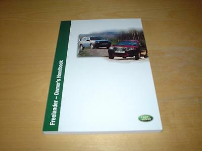LAND ROVER FREELANDER HSE E S SE TD4 SPORT Owners Handbook Drivers Manual Book