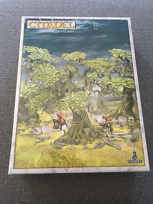 CITADEL WOOD Scenery Games Workshop Warhammer 40K+AGE OF SIGMAR+HOBBIT =3 TREES!