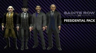 Saints Row IV: Presidential Costume DLC Pack [PlayStation 3 PS3, PSN] NEW
